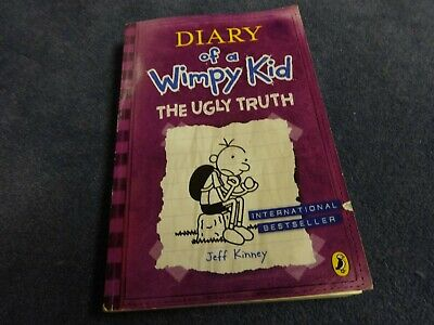 Diary of a Wimpy Kid The Ugly Truth paper back book