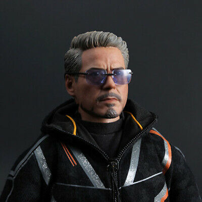 "1/6 Scale Iron Man Tony Glasses Model for 12"" Action Figure"