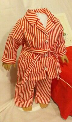 Genuine American Girl Doll Bed Set Pyjamas PJ Robe, Book Molly 1944