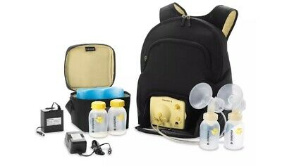 Medela Backpack bag Travel Double Pump In Style Advanced Excellent Condition