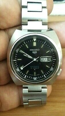 VTG Seiko 5 Sports 6119-6023 Automatic Stainless steel Automatic Day/Date 70s