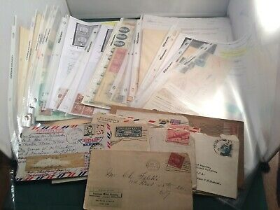 Stamp Lot - 34 Covers, 6 Blocks, $15.80 US Face Unused & Many Other Items- P2026