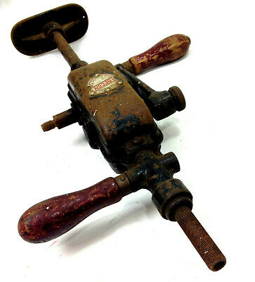 Old Antique BECON Hand Drill