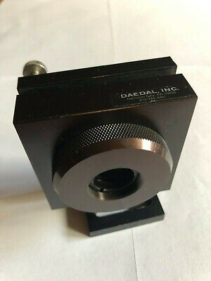 "Daedal X-Y Adjustable 1"" optic mirror/lens mount"