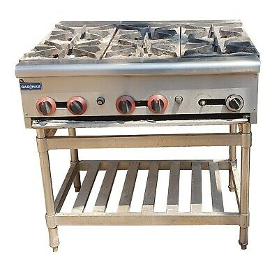 GASMAX 6 Burner Cook Top RB-6E with Stand