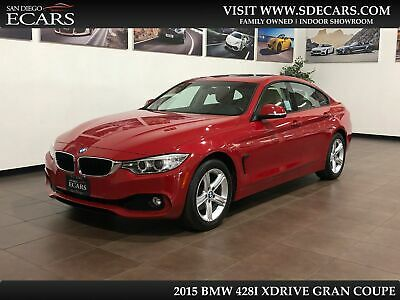 2015 BMW 4-Series  2015 BMW 428 Gran Coupe i xDrive Hatchback Navigation Back Up Cam SAT Radio AWD