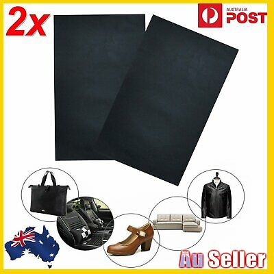2pcs Self Adhesive Leather Repair Patches For Sofa Couch Car Seats Patching Tool
