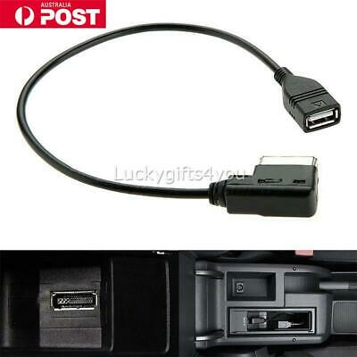 USB Interface AMI MMI Jack AUX MP3 Cable Adapter For Audi Q5 Q7 R8 A3 A4 A5 A6
