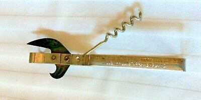 Genuine Vintage Henry Squire Buckle Proof, Blue Blade Cork Screw and Can Opener