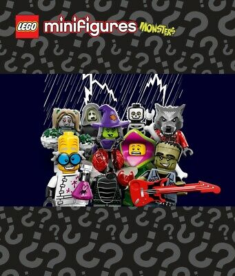Pick your own 💀 Minifigure LEGO 71010 🧛 Monsters Minifigures Series 14