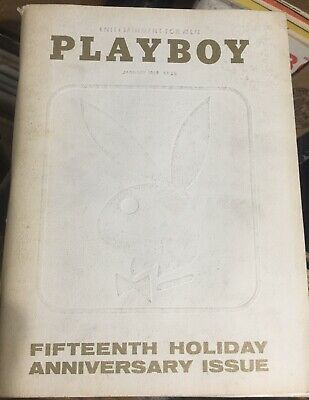 Playboy magazines Random lot of 6 with Centrefolds 1960's-2000 Used To Unopened