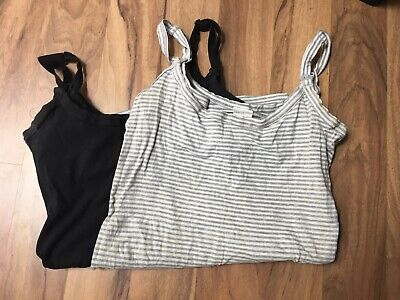 Ed.it.ed Nursing Maternity Bras Singlets Size 10