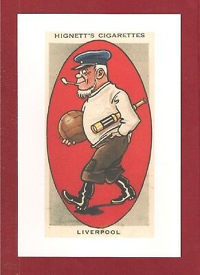 LIVERPOOL FC LFC New Postcard The REDS The Mariners  ANFIELD