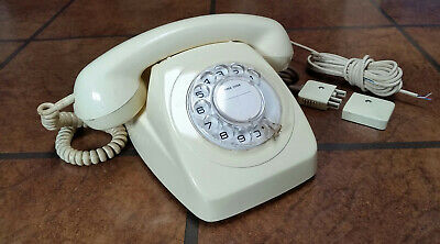Vintage Australian Telephone Phone with Rotary Dial. Exceptional Original Condit