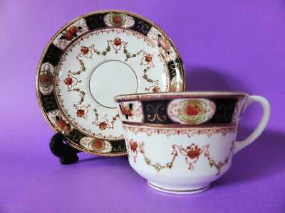Antique Melba China Tea Cup & Saucer, 1920's Hand Finished Teacup Duo