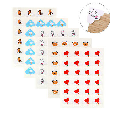 10 Sheets Photo Corners Self Adhesive DIY Album Pictures Holder Stickers