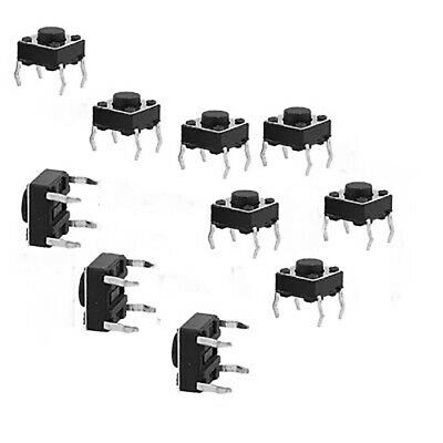 40x Breadboard Micro Momentary Tactile Push Button Switch 6x6x6mm Wate ZLS LDD