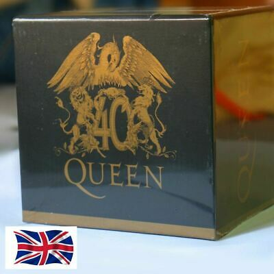 """The Queen """"40th Anniversary"""" 30 CD Collector's Box Set Booklets Full Collection"""