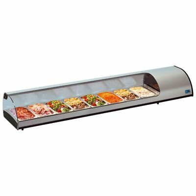 Commercial Tapas Display Chiller Fridge Glass Tecfrigo TAPAS 8