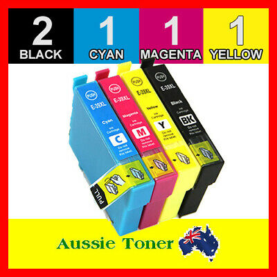 5x Generic Ink Cartridges 39XL for Epson Expression XP2105 XP4105 XP 2105 4105