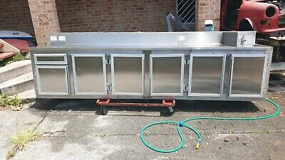 Stainless Steel bench and sink