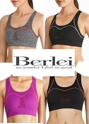 Berlei Seamfree Sports Bra Crop Top Fully Adjustasble for a Perfect Fit RRP £31