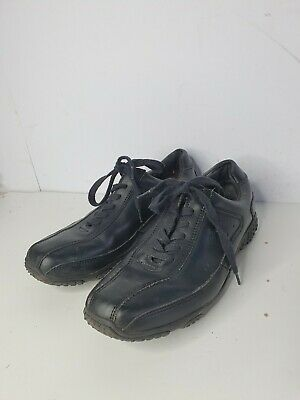 Pod Rob Leather Shoes UK 7 eu41 Black Lace Up Office Work School (12)