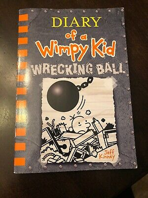 Diary of A Wimpy Kid- Wrecking Ball-- NEW paperback book- Jeff Kinney