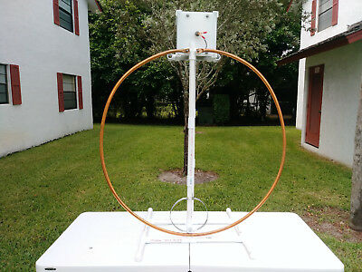COMBO High Power Multiband Magnetic Loop Antenna 10-60 Mts 33 FT Low Loss Coax