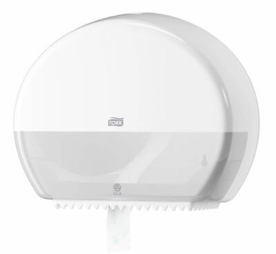 Tork T2 Mini Jumbo Toilet Roll Dispenser - White 55 50 00