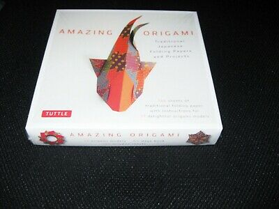 Amazing Origami Kit Traditional Japanese Folding Papers & Projects NEW