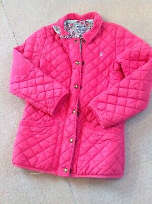 Girls Pink Joules Coat Age 11-12yrs