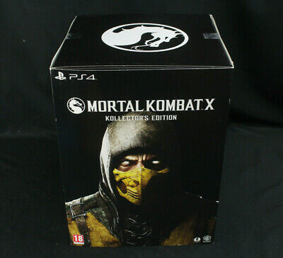 Mortal Kombat X PS4 Kollector's Collectors Edition LE Scorpion Statue New/Sealed