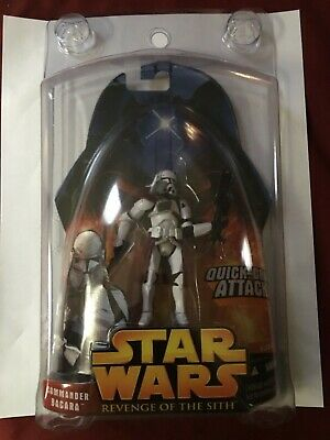 Hasbro Star Wars Revenge of the Sith Commander Bacara Quick-Draw Attack Action