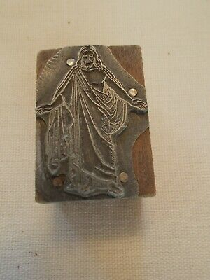 Printers Block - Jesus Christ - Antique