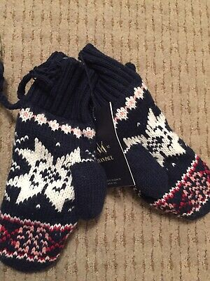 Jean Paul Marcelle Jr Mittens New With Tags Rrp 249,00