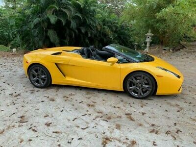 2006 Lamborghini Gallardo  Convertible Sports Car Super Car