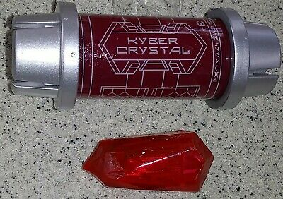 2019 Disney Parks Star Wars Galaxy's Edge Red Kyber Crystal with Tube OPENED