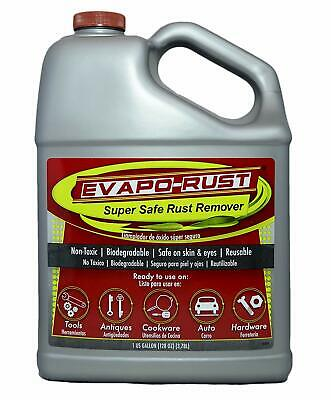 Evapo-Rust The Original Super Safe Rust Remover Water-Based Non-Toxic 1 Gallon