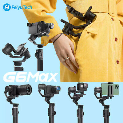 FeiyuTech G6 Max 3-Axis Handheld Gimbal Stabilizer for ILDC Camera Smartphone