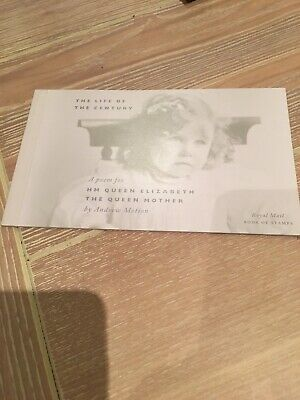 Royal Mail Stamp Booklet-Life of the Century - The Queen Mother  (2000)