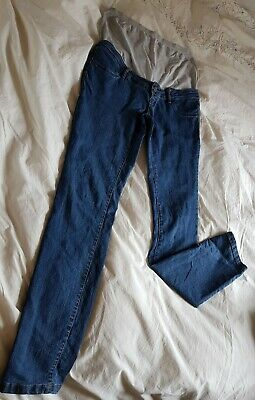 Mamalicious Denim Over Bump Maternity Jeans. 30w 32l / size 12-14