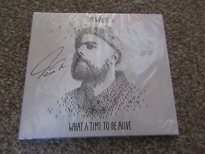 Tom Walker Signed CD Album - What A Time To Be Alive