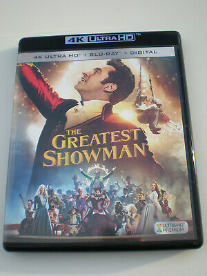 The Greatest Showman │4K Ultra HD Only│No Digital Copy│No Slipcover