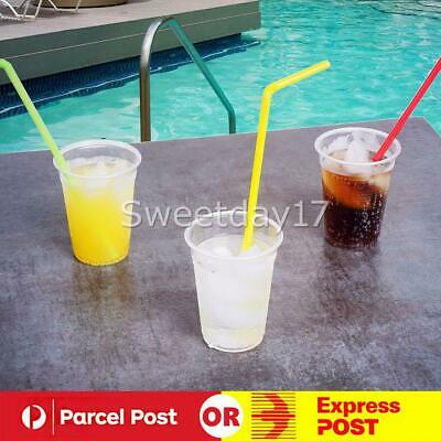 200ml Clear Disposable Plastic Cups Party Drinking Water Coffee Cup Reusable Y