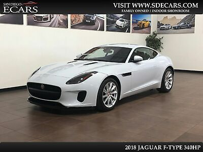 2018 Jaguar F-Type 340HP 2018 Jaguar F-Type 340HP V6 Yulong White On Black Fresh Service Factory Warranty