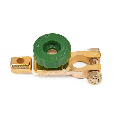 1Pc Terminal Accessory Battery Link Cut-off Disconnect Car Brass Plated