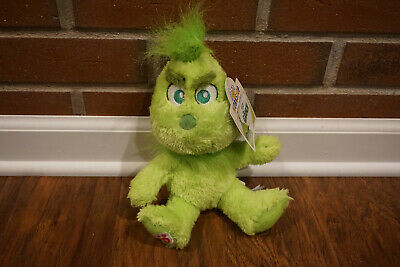 Build a Bear Young Grinch / Baby Grinch Christmas Stuffed Plush - Brand New