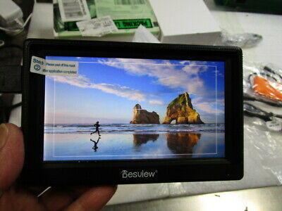 """US Stock Desview Mavo-P5 5.5"""" on Camera Monitor With 4K HDMI Input for DSLR"""