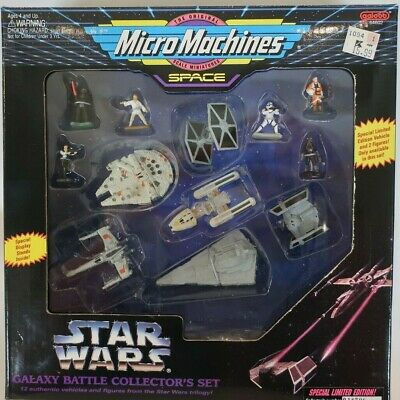 Micro Machines Star Wars Galaxy Battle Collectors Set  MISB